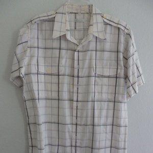 Vintage Christian Dior Men's Button Down Shirt